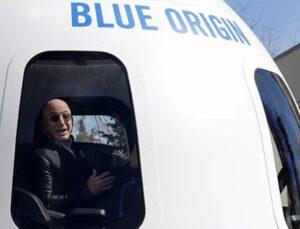 Adını açıklamayan bir kişi, ABD'li milyarder Bezos'a uzay yolculuğunda eşlik etmek için 28 milyon dolar ödedi