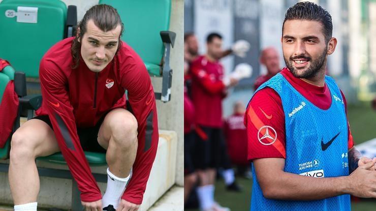 Çağlar Söyüncü ve Umut Meraş idmanda yok   Türkiye-Galler maçı…