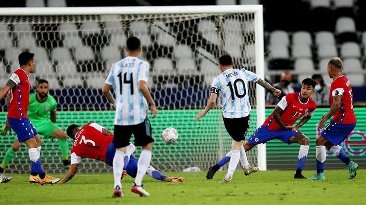 Copa Americada Arjantin ile Şili yenişemedi