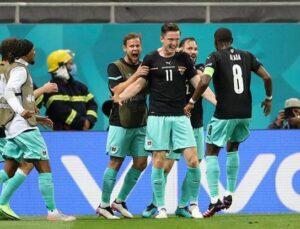 EURO 2020 C grubunda Avusturya liderliğe yükseldi