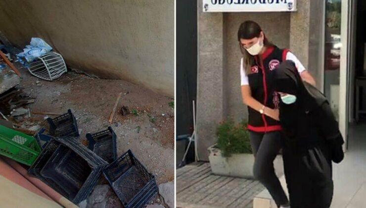 Kokunun geldiği yeri kazan ekipler buldu! Annesini öldürüp, gömen kız tutuklandı