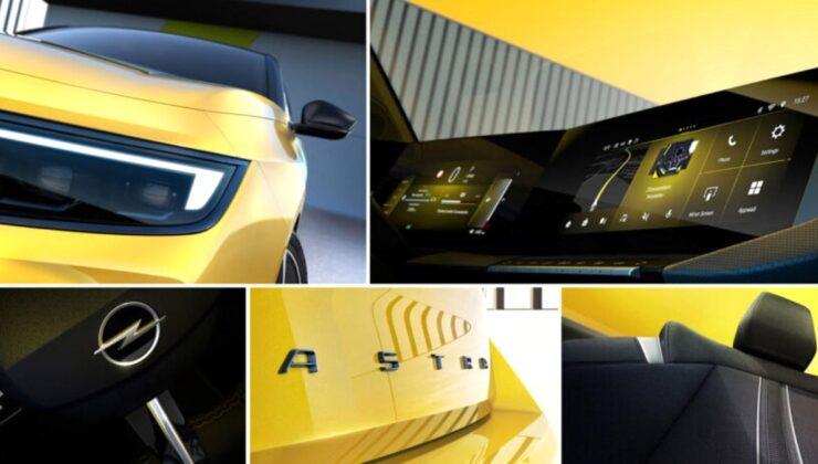 Opel'den Yeni Astra için ilk ipuçları