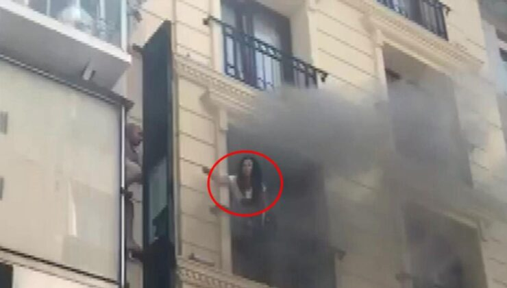 Otelin sauna kısmında yangın çıktı! Mahsur kalanların imdadına itfaiye yetişti
