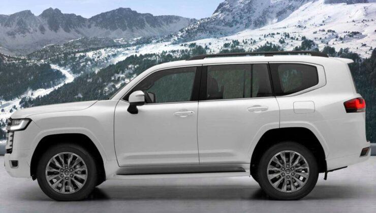 Toyota Land Cruiser kabuk değiştirdi
