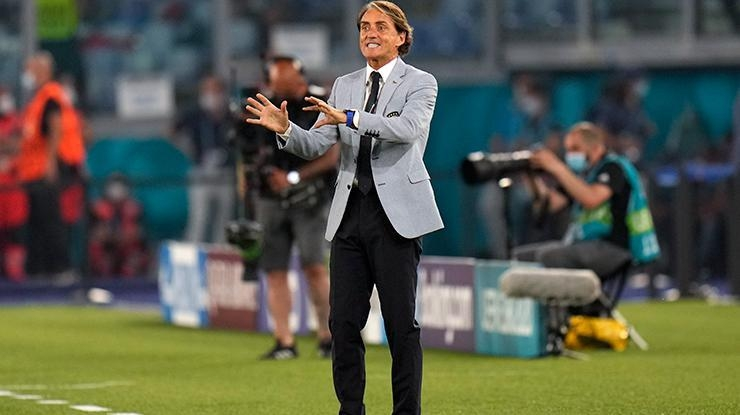 Türkiye – İtalya EURO 2020 maçı | Roberto Mancini, Çekya maçının…