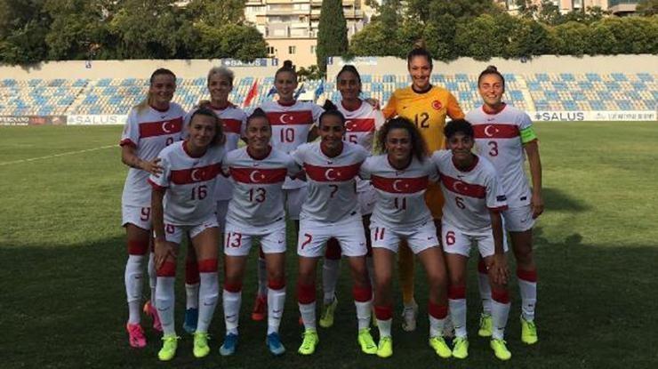 A Milli Kadın Futbol Takımı, Arnavutluk karşısında galip
