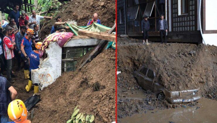 Acı haberler peş peşe geliyor! Rize'deki sel felaketinde hayatını kaybedenlerin sayısı 6'ya yükseldi