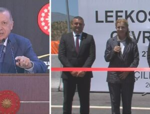 Açılışta fark ettiği eksiği es geçmedi! Bakan'dan sözü alan Cumhurbaşkanı Erdoğan, salondakileri de şahit tuttu