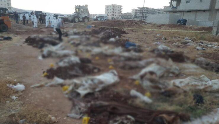 Afrin'de PKK'nın katlettiği kişilere ait toplu mezar ortaya çıktı