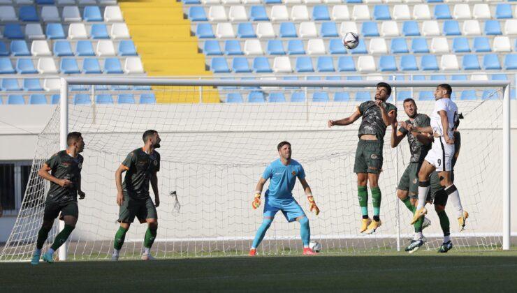 Alanyaspor, hazırlık maçında Zoryaya 2-1 yenildi