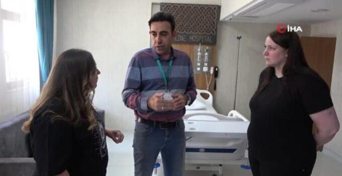 Almanya'dan gelip şifayı Elazığ'da buldu, doktoru günde 2 kere gördüğüne inanamadı