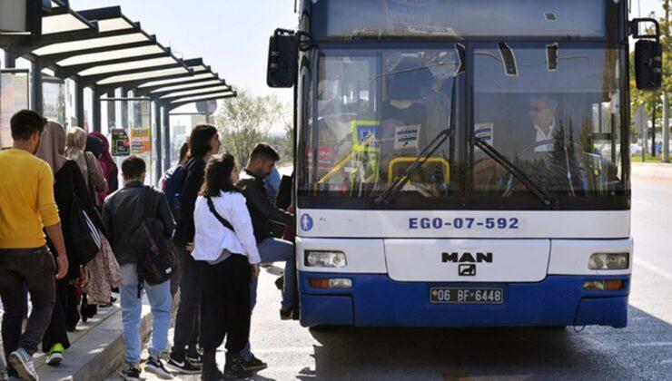 Ankara'da Kurban Bayramı süresince toplu taşıma ücretsiz olacak