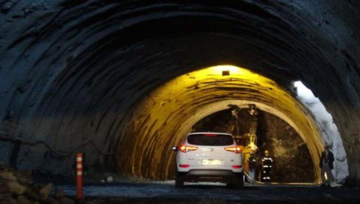 Avrupa'nın en uzunu olacak Zigana Tüneli'nin yüzde 89'u tamamlandı
