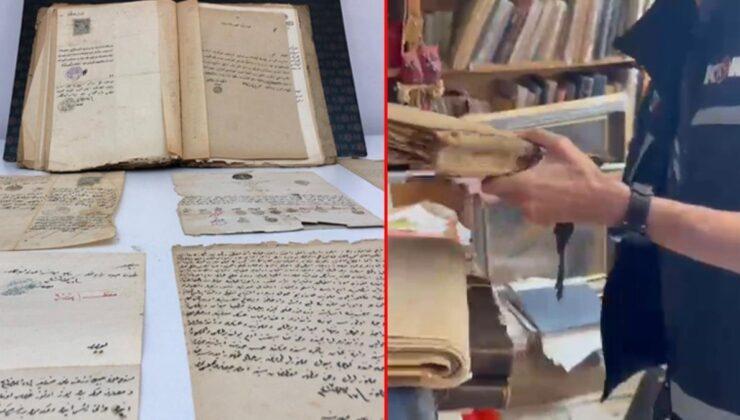 Cumhurbaşkanlığı tarafından aranıyordu! Kadıköy'deki sahaf Osmanlı arşivinin kayıp belgelerini 25 yıl önce çöpte bulmuş