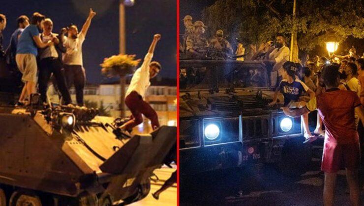 Darbe girişimi sonrası sokağa dökülen Tunuslular, 15 Temmuz'a ait görüntülerle birlik çağrısı yapıyor