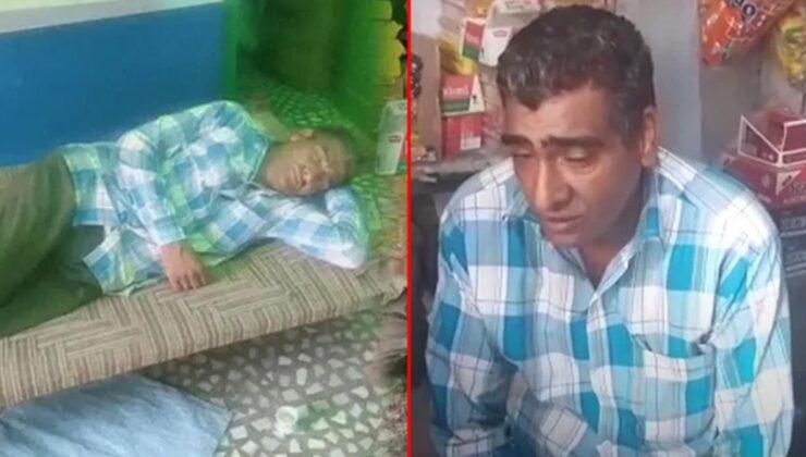 Dünya bu adamı konuşuyor! Yılda 300 gün uyuyor, ailesi tarafından uykusunda yıkanıp besleniyor