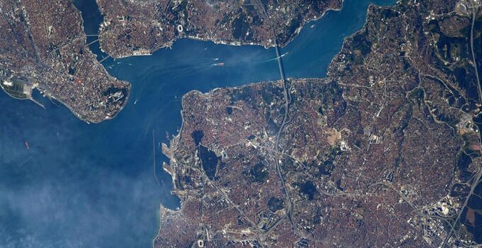 Dünyaca ünlü NASA astronotu Shane Kimbrough'ten İstanbul paylaşımı