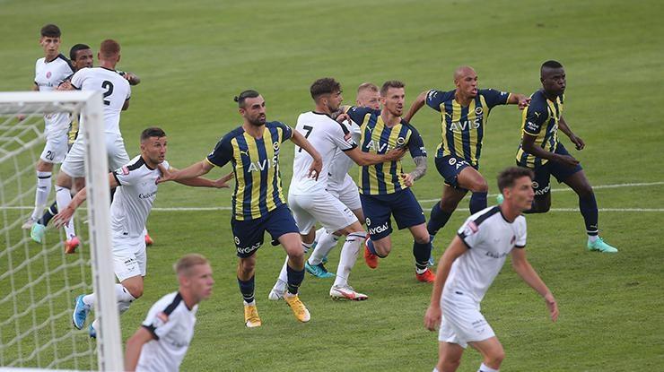 Fenerbahçede 9 oyuncu Csikszereda maçında görev yapmadı