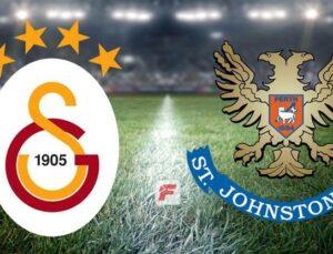 Galatasaray – St. Johnstone maçı ne zaman oynanacak? GS-St. Johnstone…