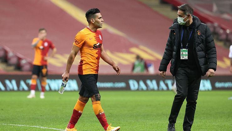 Galatasarayda Falcao gelişmesi! İdmanda yer almadı