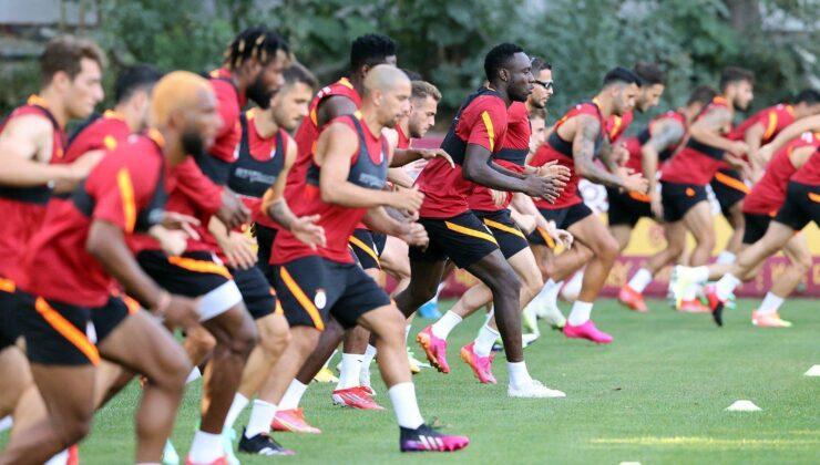 Galatasarayda Taylan Antalyalı ve Jimmy Durmaz, takımdan ayrı…
