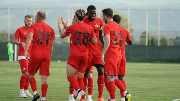 Gaziantep FK, ikinci hazırlık maçında da galip