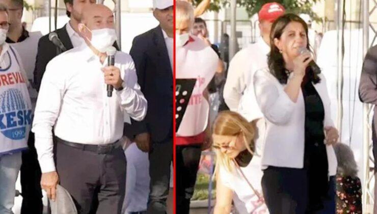 'HDP ile miting yapıyorlar' eleştirilerine CHP'den yanıt: Belediye başkanımız davete icabet etmiş