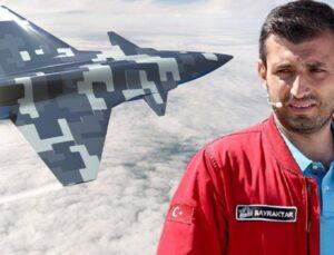 İnsansız savaş uçağından ilk görüntüler geldi! Selçuk Bayraktar, ilk uçuş için tarih verdi