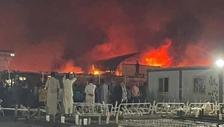 Irak'ta koronavirüs hastanesinde yangın! Yaşamını yitirenlerin sayısı 45'e yükseldi