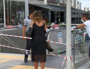İstanbul Eyüpsultan metrosunda klima patlaması! Seferler aksadı