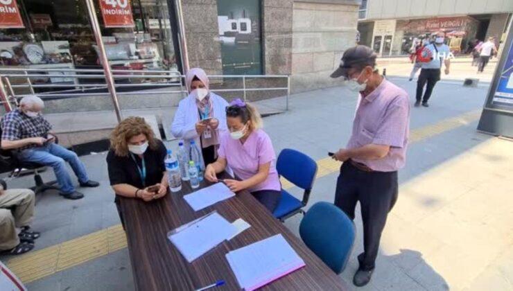 Karabük'te kent nüfusunun yarısından fazlasına 1. doz aşı yapıldı