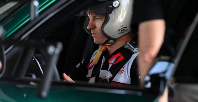 Kimi Räikkönen Giulia GTA'yı test etti
