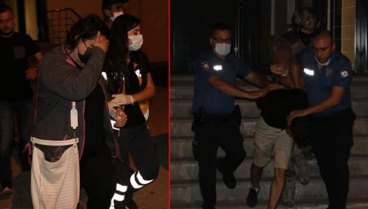Madde bağımlısı genç, sevgilisiyle kendisini evine kilitledi! Özel harekat polisleri rehine kadın için operasyon düzenledi