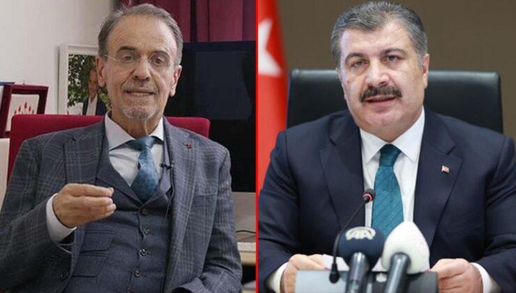 Mehmet Ceyhan'dan Bakan Koca'yı kızdıracak 3. doz çıkışı: Hiçbir bilimsel açıklaması yok