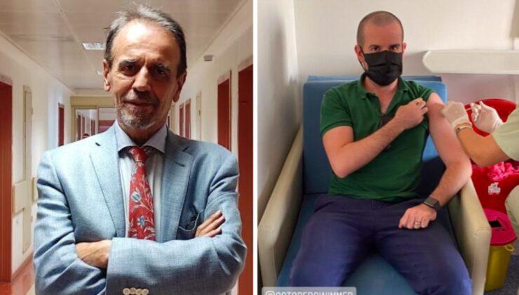 Mehmet Ceyhan'dan 'Oğlu aşı olmadı' iddialarına fotoğraflı yanıt