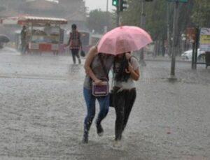 Meteoroloji'den İstanbul ve Ankara'nın da dahil olduğu 25 il için kuvvetli yağış uyarısı