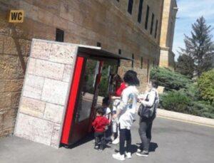 Mimarlar Odası hukuk mücadelesini kazandı! Anıtkabir'deki otomatlar kaldırıldı