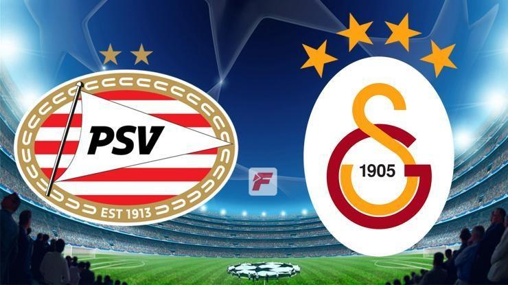PSV – Galatasaray maçı ne zaman, saat kaçta hangi kanalda? GS…
