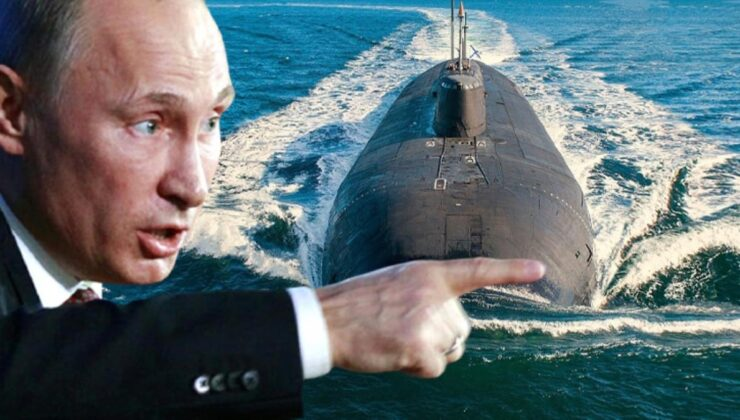 Putin'in yeni savaş makinesi 'Belgorod' denize açıldı! Son 30 yılda üretilen en büyük denizaltı