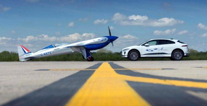 Rolls-Royce'un uçuş denemesine JLR desteği