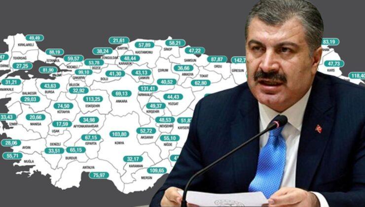 Sağlık Bakanı Koca, aşılama verilerini paylaştı: Hiç aşı olmayanların sayısı 21 milyon 901 bin 631'e indi