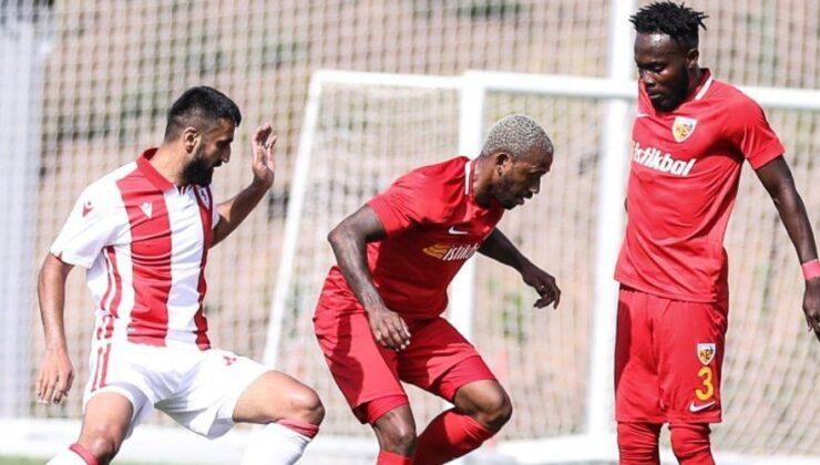 Samsunspor, Kayserisporu tek golle geçti