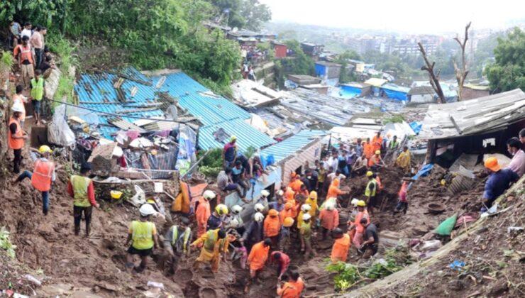 Şiddetli yağışlar dünyayı esir almış durumda! Hindistan'da toprak kayması can aldı: 25 ölü