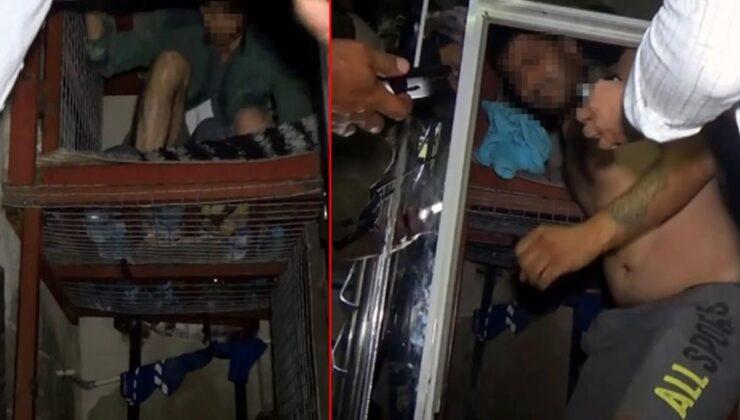 Şirinler çetesine büyük operasyon! Zırhlı araçlarla girilen adreste, çelik kafeslerde esir tutulan iki kişi kurtarıldı