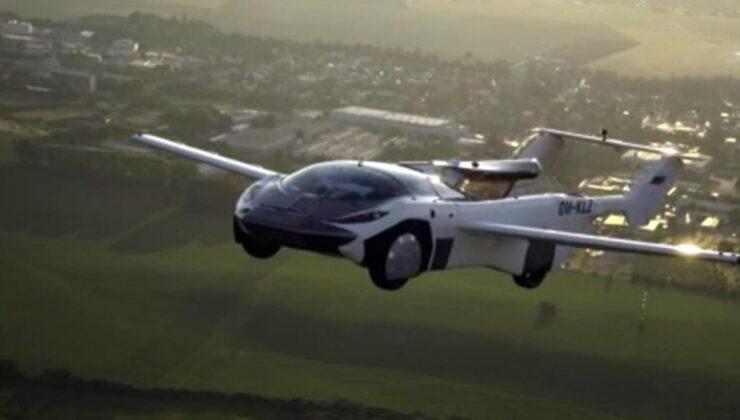 Slovakya'da üretilen uçan araba ilk şehirler arası uçuşunu gerçekleştirdi