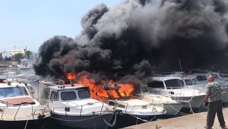 Son Dakika: Maltepe sahilinde panik! 8 tekne alevlere teslim oldu