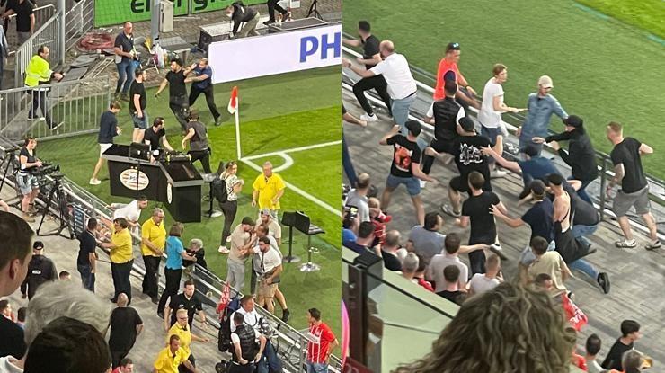 Son dakika! PSV – Galatasaray maçında gerilim! Saldırı girişimi…