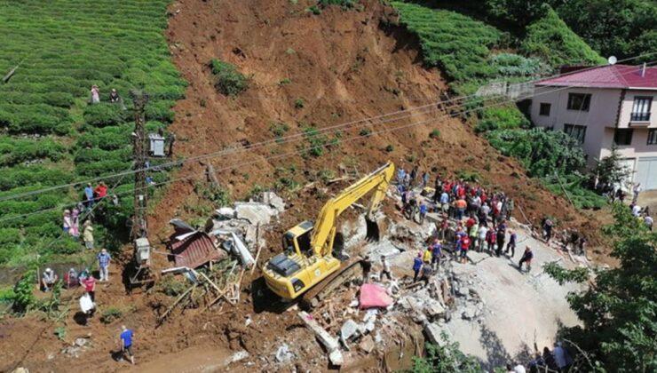 Son Dakika: Rize'de sele maruz kalan alanlar afet bölgesi ilan edilecek