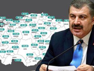 Son Dakika! Son bir haftada vaka sayısının en çok arttığı iller Siirt, Diyarbakır, Ağrı, Bitlis ve Giresun oldu
