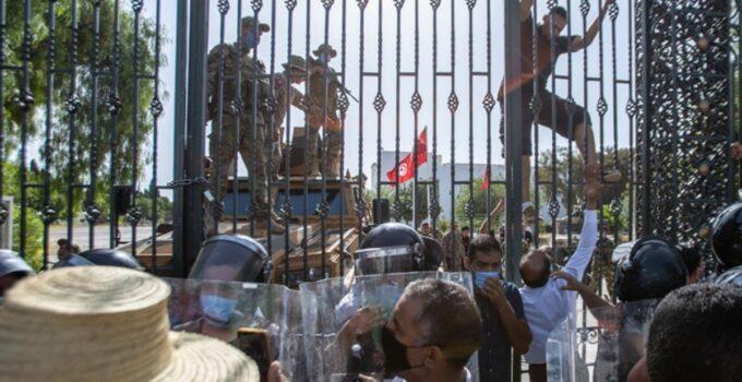Son Dakika! Tunus'taki darbe girişimine Dışişleri Bakanlığı'ndan tepki: Derin endişe duyuyoruz
